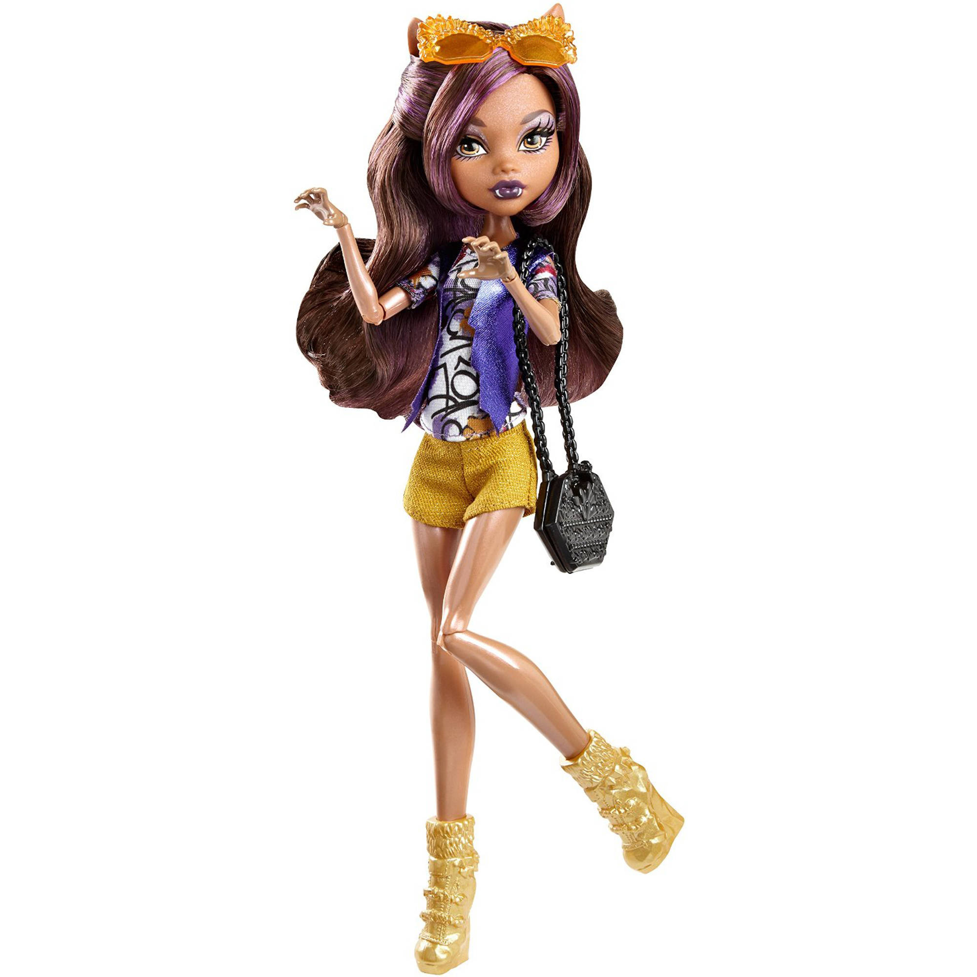 Monster High Cheerleader Clawdeen Wolf Doll  Walmartcom