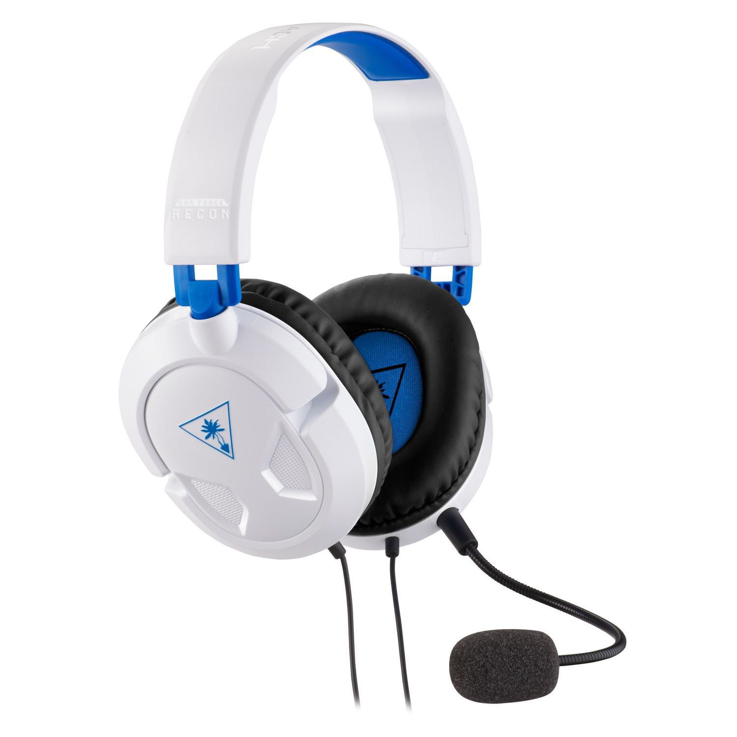 Turtle Beach Recon 50P Gaming Headset for PS4, Xbox One, PC, Mobile (White)