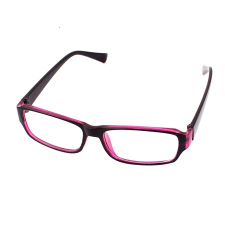 Women Plastic Full Frame Eyewear Spectacles Optical Plain Plano Glasses (Optical Glasses Frames)