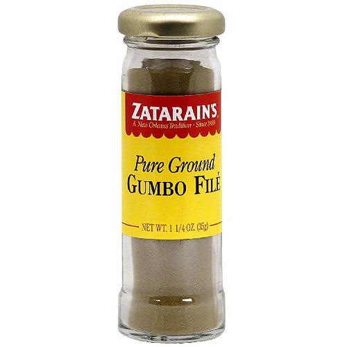 Zatarain's Gumbo File Seasoning, 1.25 oz (Pack of 12)