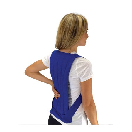 Nature Creation- Spine & Back - Stress & Sore Muscles - Herbal Hot and Cold Pack (Blue