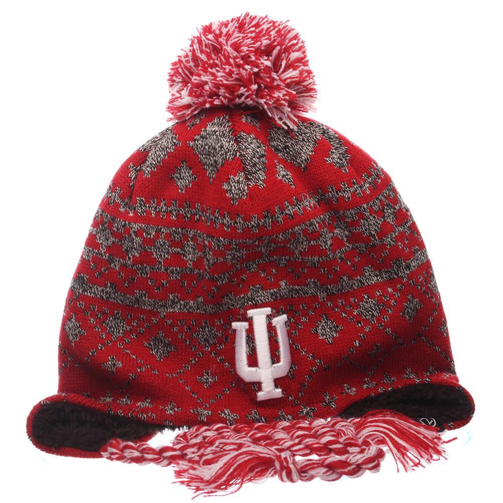 Indiana University Hoosiers Beanie Zephyr Teton Knit Hat