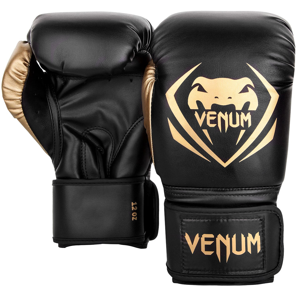 Venum Fusion Hook and Loop MMA Training Boxing Gloves Neo Yellow//Black