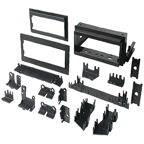 "Best Kits Bkgm4 In-dash Installation Kit [gm[r] Universal 1982-2003 With Factory Brackets & Flat, .5"" & 1"" Trim Plates Single-din]"