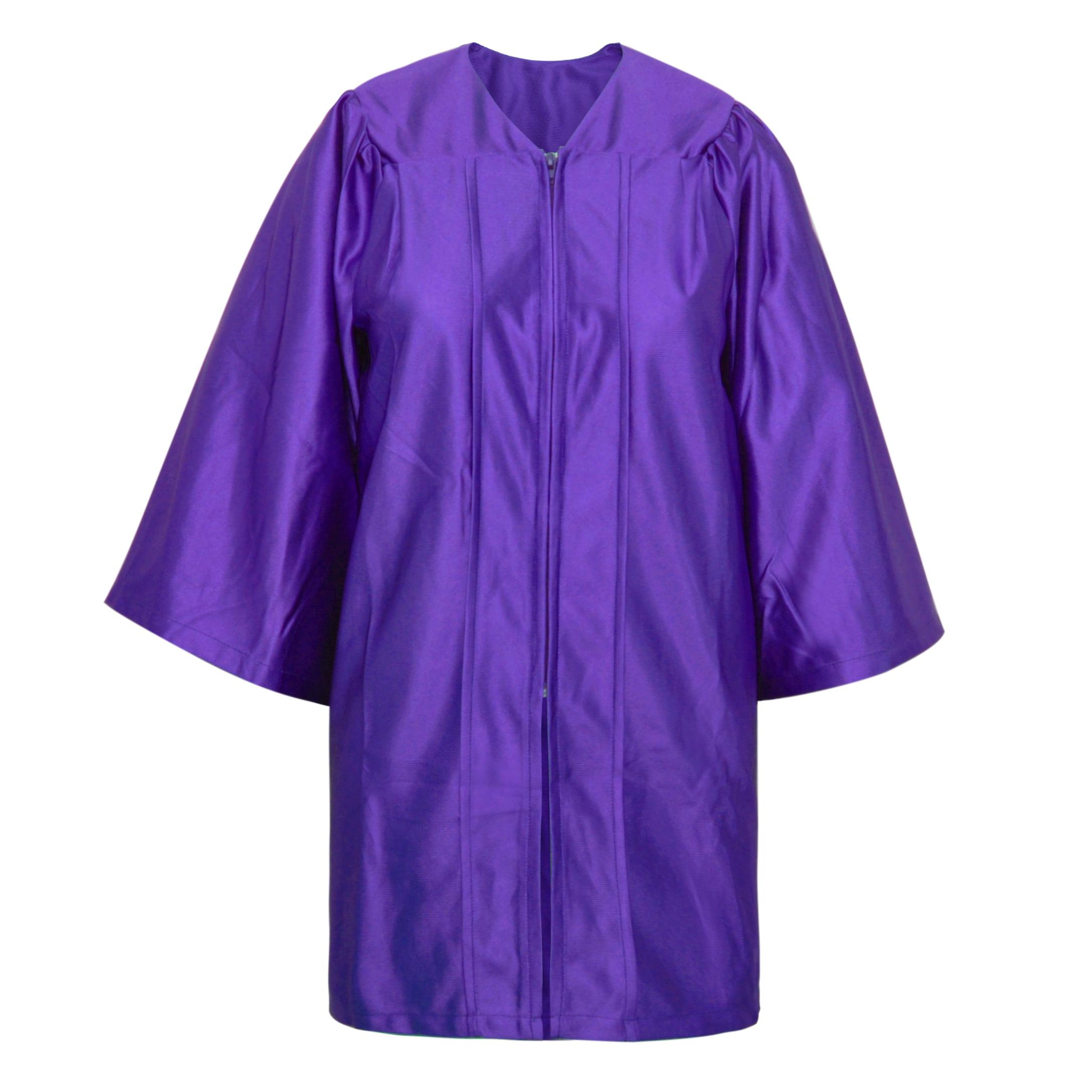 Toptie Toptie Unisex Kindergarten Kids Graduation Gown Choir Robe Purple Walmart Com Walmart Com