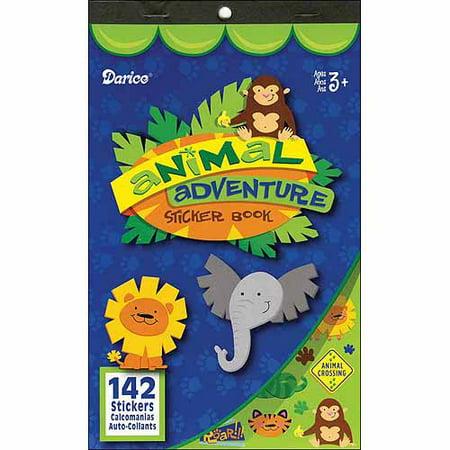 - Sticker Book Animal Adventure 142Pc