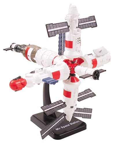 NASA Space Adventure Child Plastic Toy Model Kit Space Station, 5 minute build up time By... by