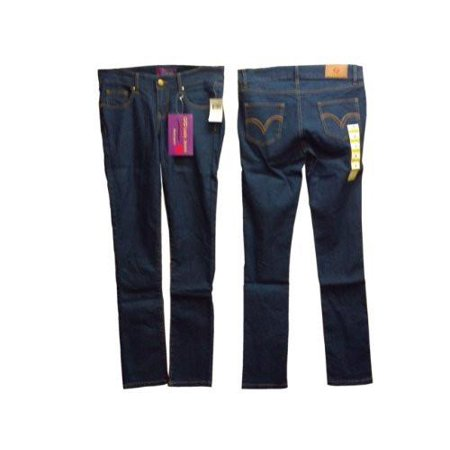Ladies Sizes 1/3/5/7/9/11/13/15, Denim Low Rise, 5 Pockets, Jeans. Skinny Leg Cut. * 2 Units Pack