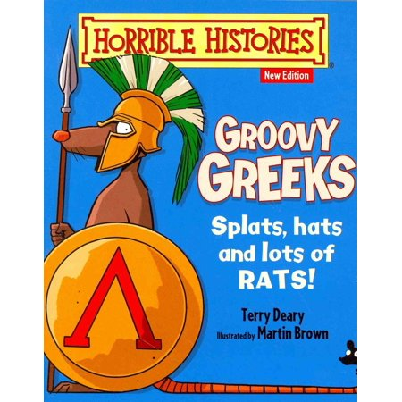 Groovy Greeks (Horrible Histories) (Paperback) - Horrible Histories Halloween Special