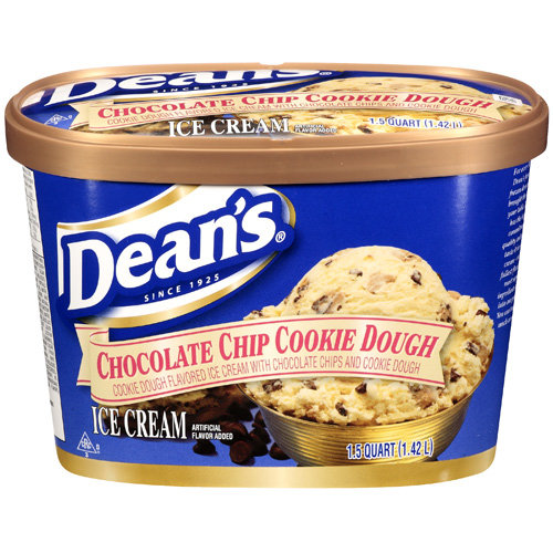 Dean?s Chocolate Chip Cookie Dough Ice Cream, 1.5 qt