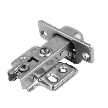 Uxcell Cabinet Cupboard Metal Face Frame Hydraulic Buffering Concealed Hinge 107mm - Pci Frame Buffer