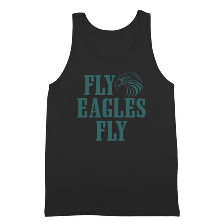 Fly Eagles Fly Philadelphia Small Black Tank