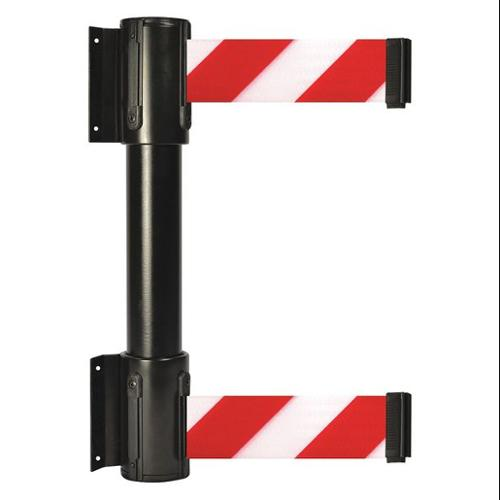 TENSATOR 896T2-33-MAX-D3X-C Belt Barrier, Red w/White Stripe, 2 in.W