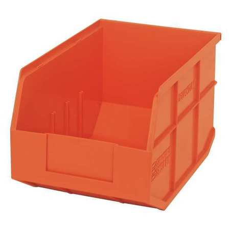 Quantum Storage Systems 60 lb Capacity, Shelf Bin, Orange