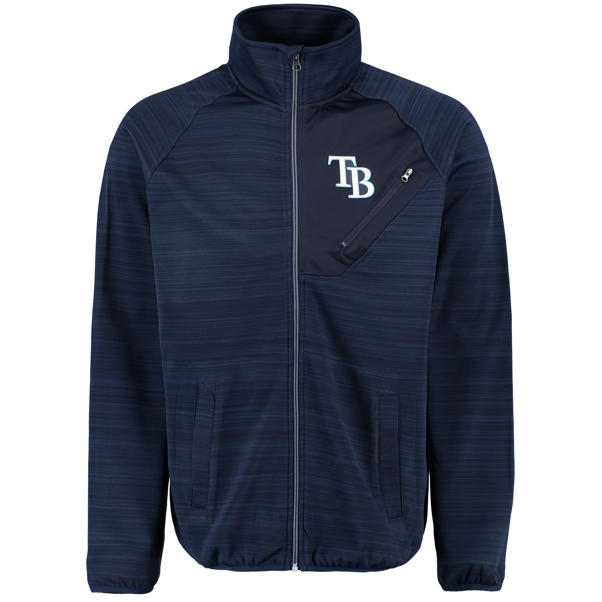 Tampa Bay Rays G-III Sports by Carl Banks Full Count Track Jacket - Navy