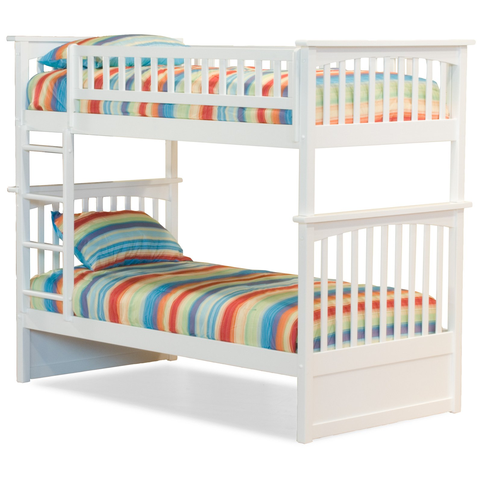 Atlantic Furniture Columbia Twin over Twin Bunk Bed