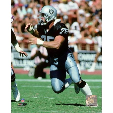 Howie Long 1990 Action Photo Print