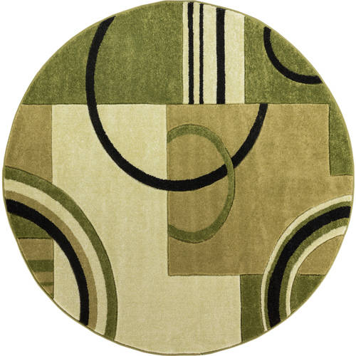 Well Woven Ruby Galaxy Waves Contemporary Area/Runner/Round Rug