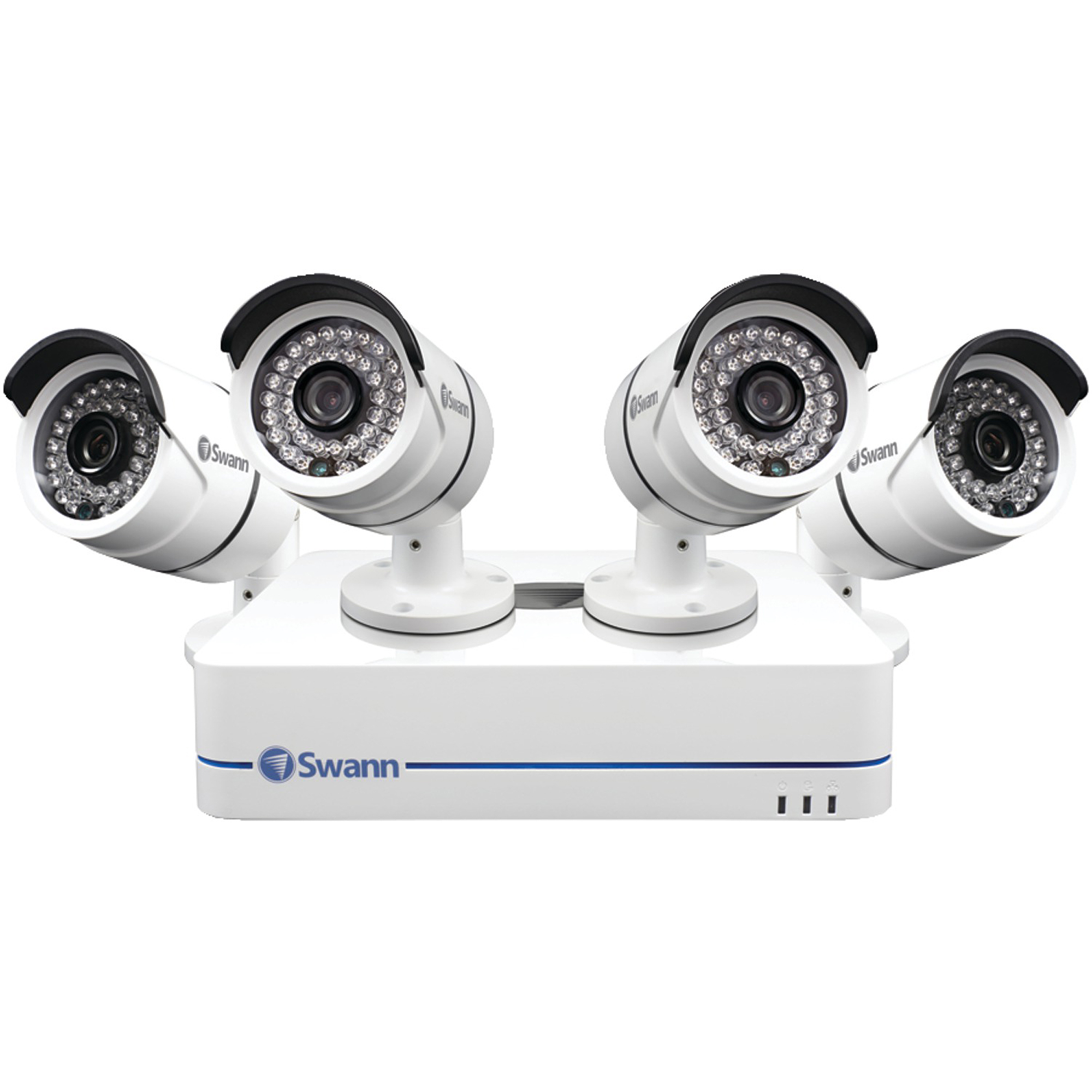 Swann Swnvk-470854-us 4-Channel 720p NVR with 4 Security Cameras