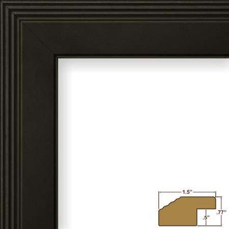 Craig Frames Inc. 1.27\'\' Wide Smooth Picture Frame - Walmart.com