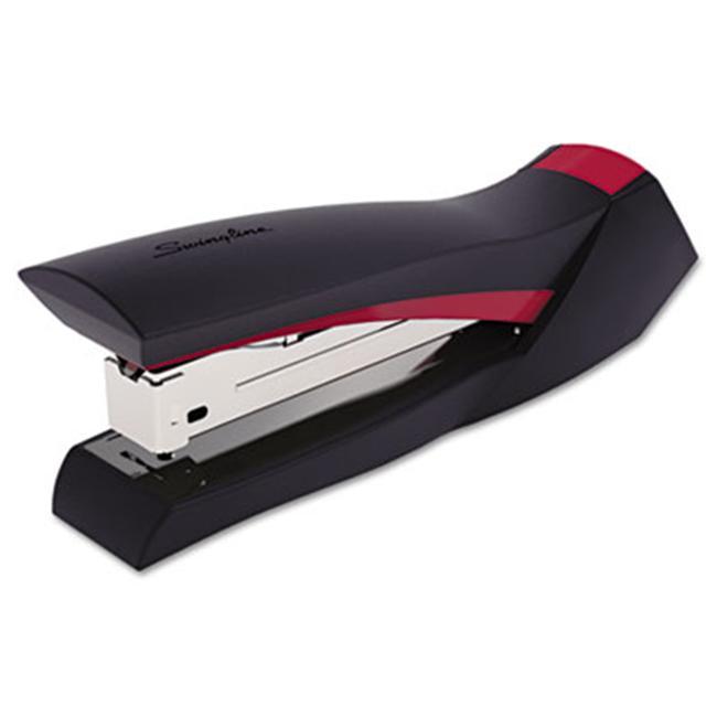 SmoothGrip Stapler- 20 Sheet Capacity- Red