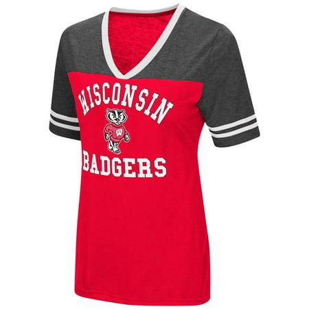 University of Wisconsin Badgers Women's S/S Tee Colosseum Short (University Wisconsin Badger Sports)