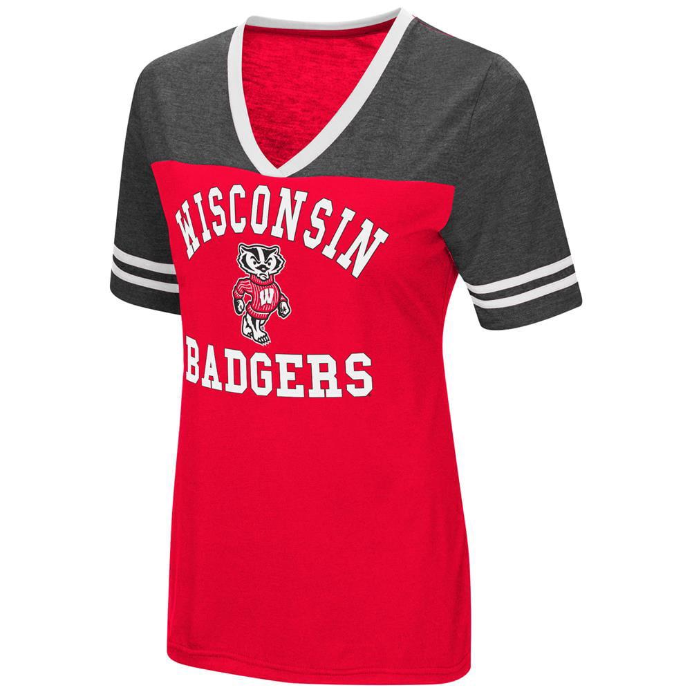 University of Wisconsin Badgers Women's S/S Tee Colosseum Short Sleeve