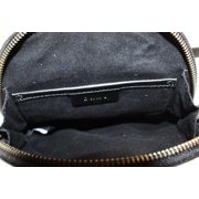 e5e99fc4a6 DKNY NEW White Striped Leather Mini Backpack Messenger Bag Purse Image 5 of  6