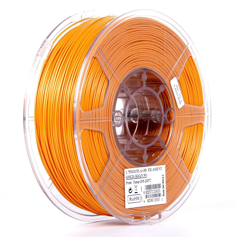 eSUN 1.75mm Cool White PLA PRO (PLA+) 3D Printer Filament 1KG Spool (2.2lbs), Cool White