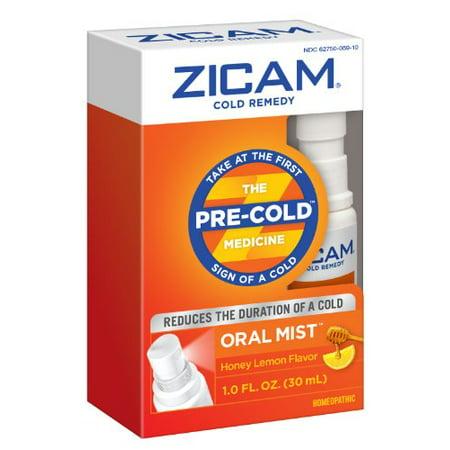 3 Pack Zicam Cold Remedy Pre Cold Oral Mist Arctic Mint Each 1 Oz