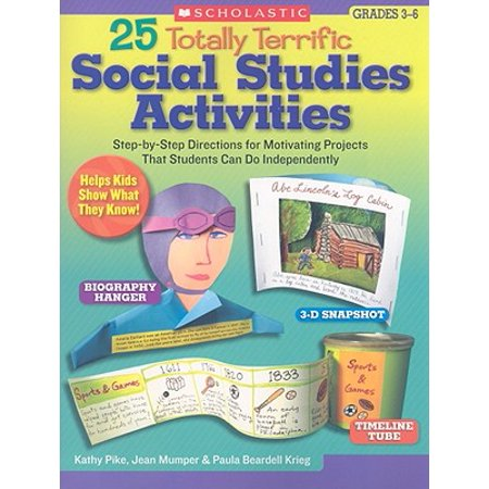 25 Totally Terrific Social Studies Activities : Step-By-Step Directions for Motivating Projects That Students Can Do - Halloween Art Projects For High School Students