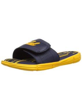 b141b2fa7f3a Product Image Under Armour Men s Ignite V Collegiate Slide Sneaker