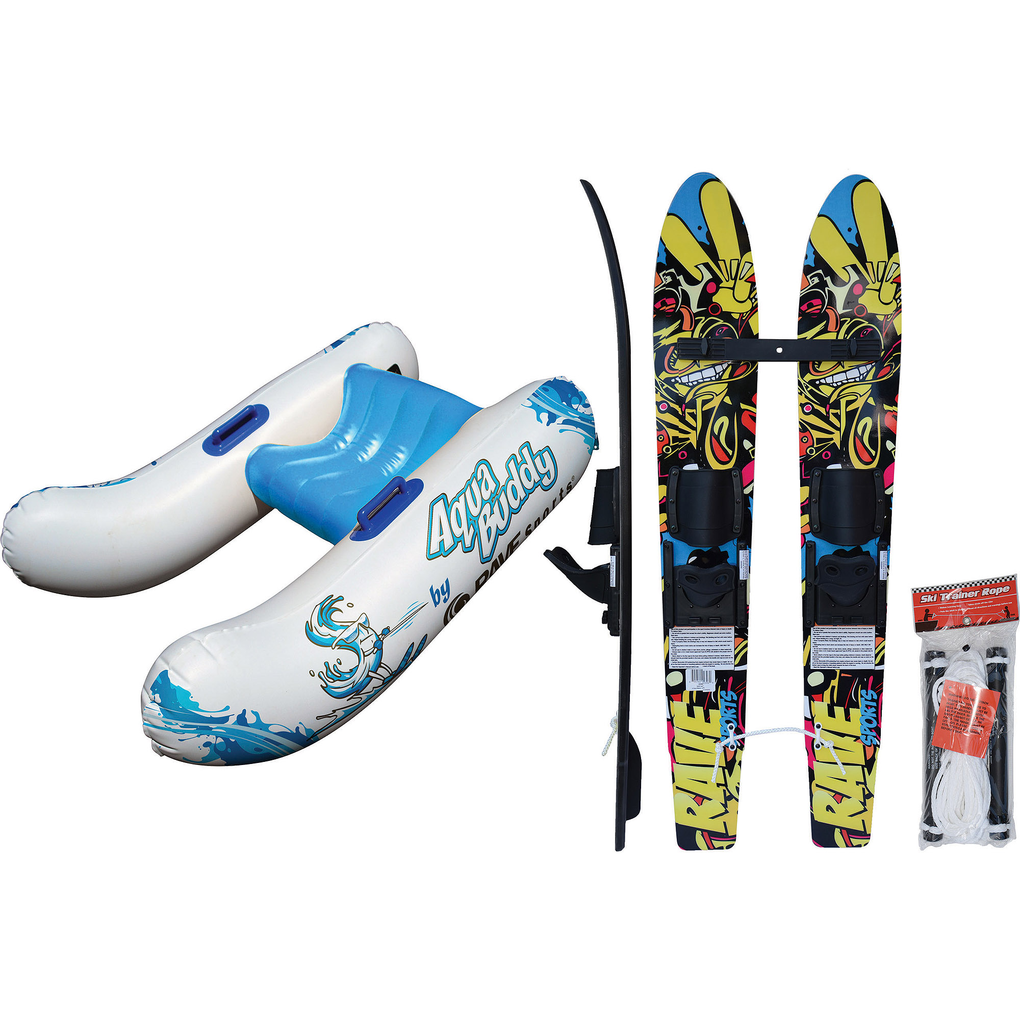 Click here to buy Rave Sports Water Ski Starter Package by Rave Sports.