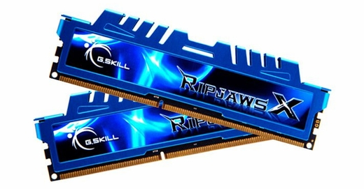 G.SKILL F3-2400C11D-16GXM Ripjaws X Series 16GB 2x8GB DDR3-2400 RAM Memory