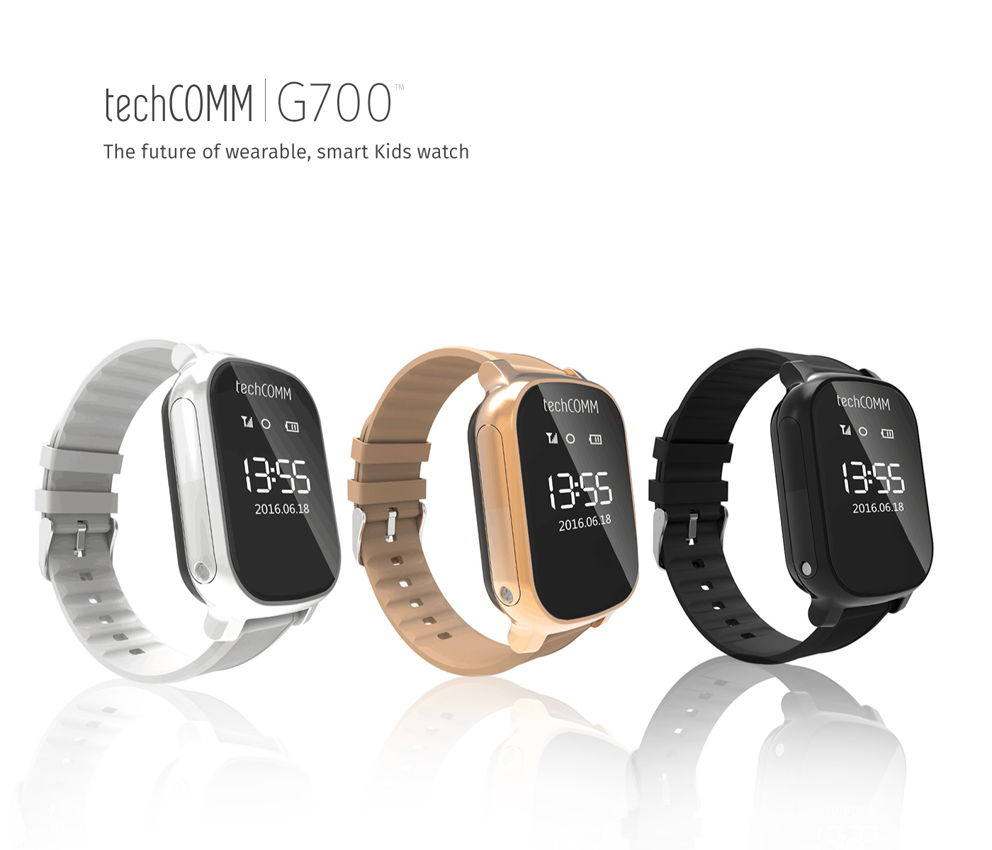 TechComm G700 Kid Tracker Watch for T-Mobile ONLY with GPS and Geofencing by TechComm