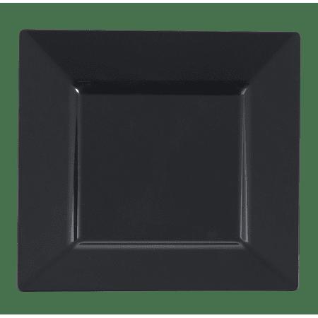 Kaya Collection - Black Plastic Square 10.75