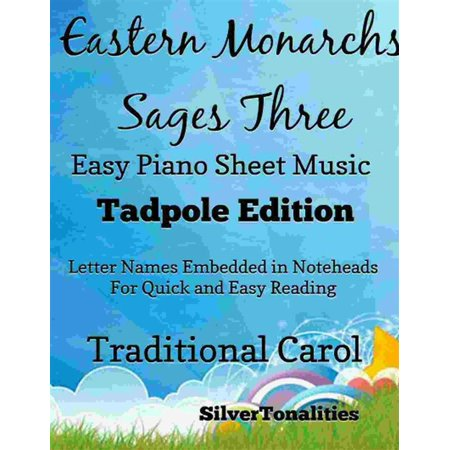 Eastern Monarchs Sages Three Easy Piano Sheet Music Tadpole Edition - eBook - This Is Halloween Sheet Music Piano Easy