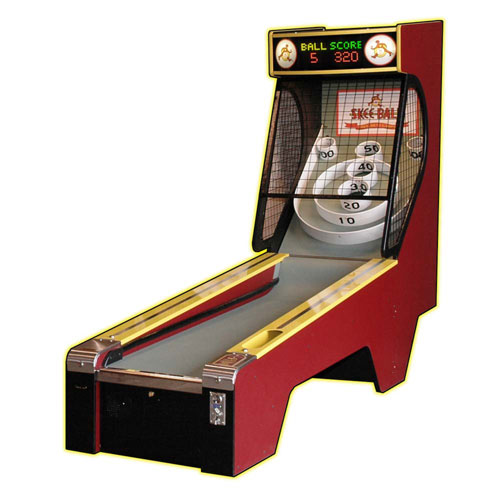 The Skee-Ball 2010 Alley