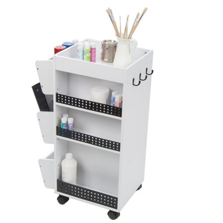 - Studio Designs Double Sided 9 Compartment Teaching Cart with Bins