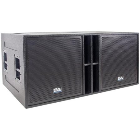 18 Inch Bass Speaker - Seismic Audio The Quad-18 - 4 x 18 Inch Subwoofer Cabinet  - 4 x 18 Bass Cab 4800 Watts - The_Quad_18