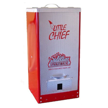 Smokehouse Little Chief 9900 Red Tuff Coat Electric Front Load Meat