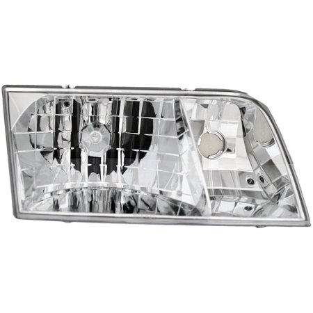 Dorman 1590151 Headlight For Ford Crown Victoria, Clear Lens Ford Crown Victoria Headlight Switch