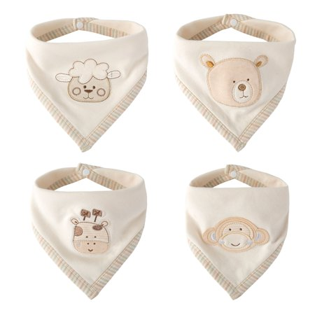 Super Cute Bandana Bib - Best for Drooling and (Best Bandana Bib Pattern)