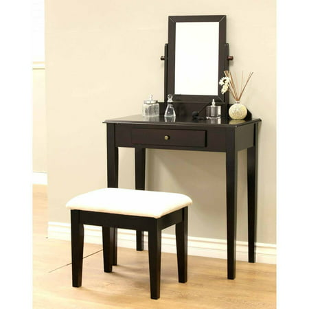 home craft 3 piece vanity set multiple colors