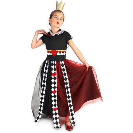 Evil Queen of Hearts Child Halloween Costume - Eye Heart Sf Halloween