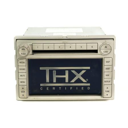 2006 Lincoln Zephyr AM FM 6 Disc MP3 CD Player Navigation System 6H6T-18K931-AP -