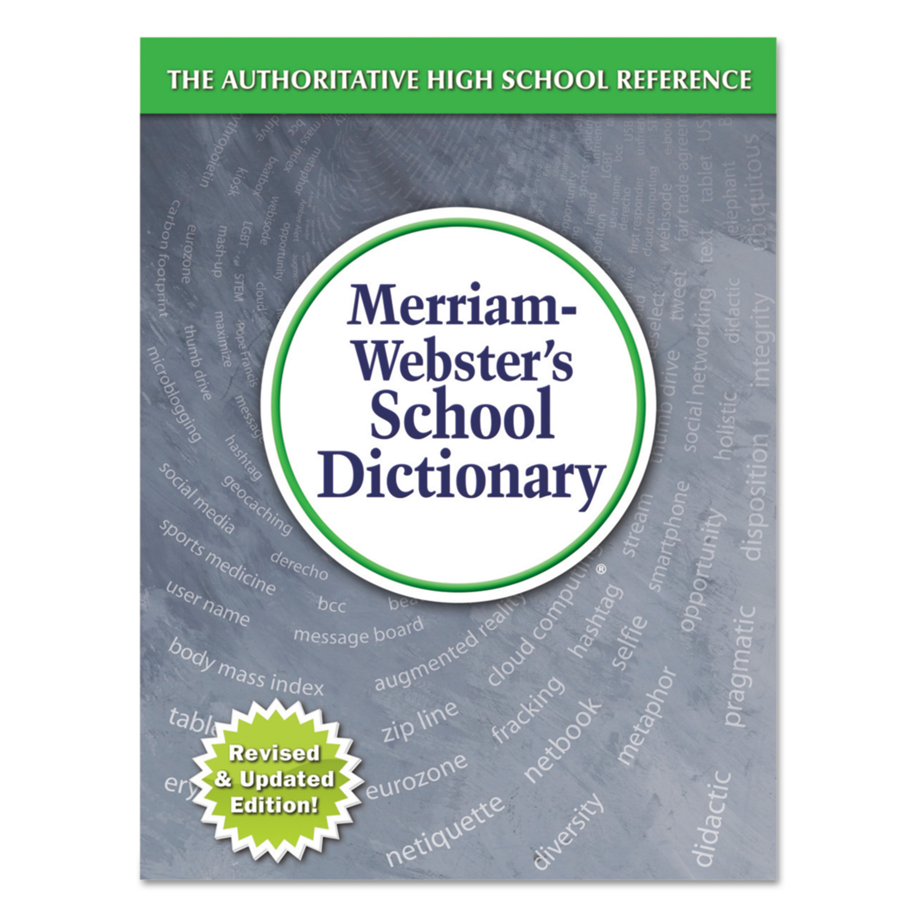 Merriam Webster School Dictionary, Grades 9-11, Hardcover, 1,280 Pages -MER6800