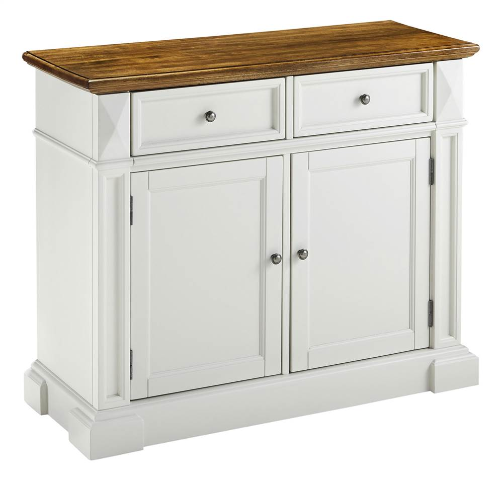 Buffet Server in White Finish