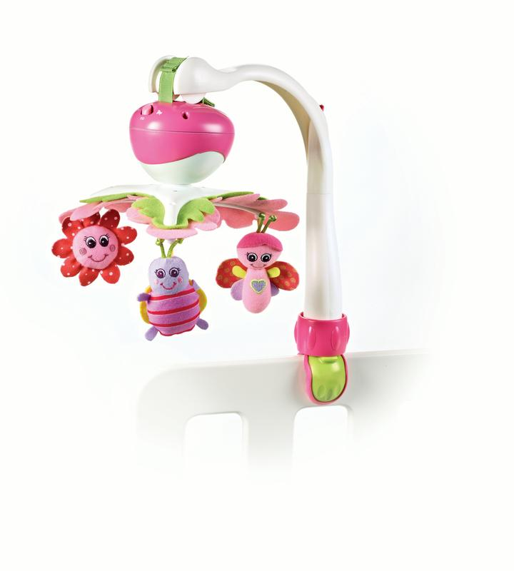 Tiny Love Tiny Princess Take Along Soothing Baby Mobile, Pink