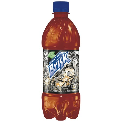 Lipton Brisk Sweet Iced Tea, 20 oz